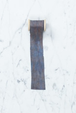 Northern Dyer Northern Dyer Natural Dye Silk Ribbon - Indigo + Avocado - 6'