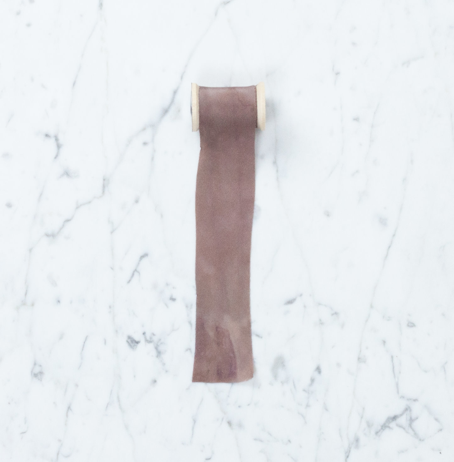 Northern Dyer Northern Dyer Natural Dye Silk Ribbon - Hibiscus - 6'