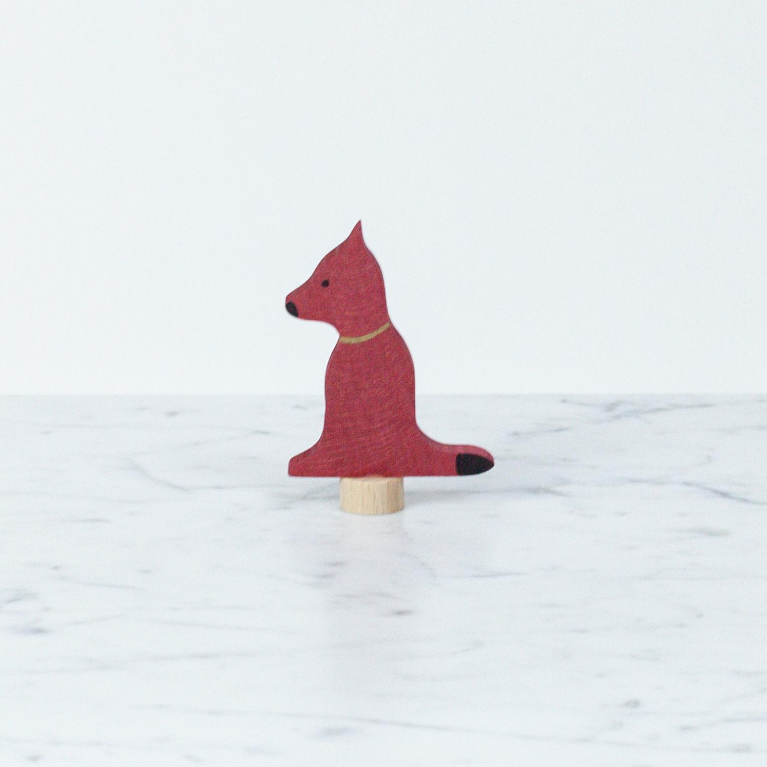 Grimm's Toys Celebration Foxy Dog