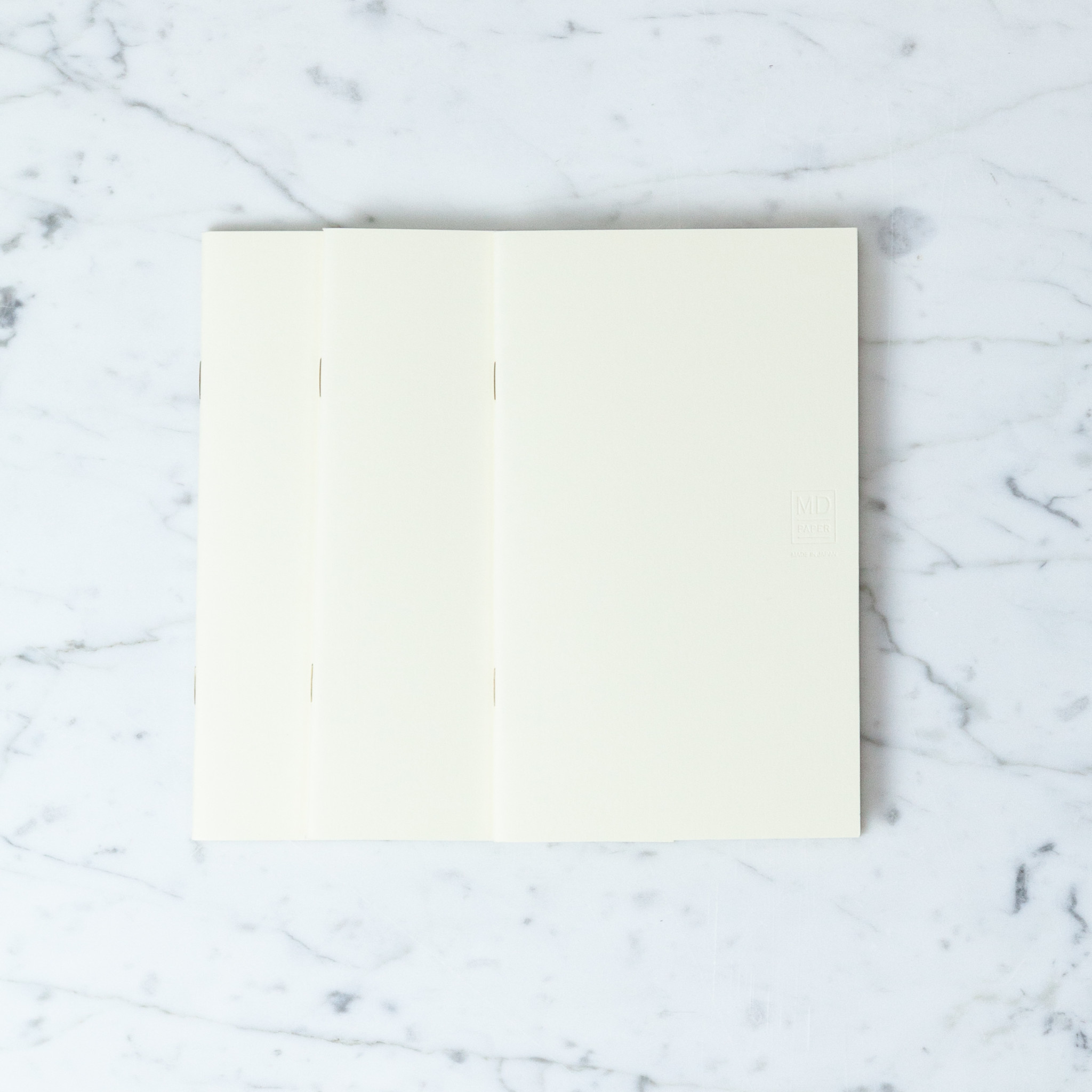 Midori Simple Notebook B6 - Blank - 3 Pack