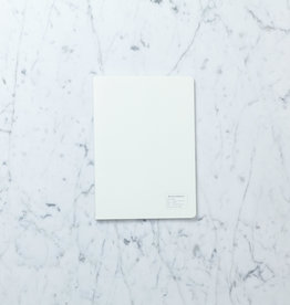 Small Grid Notebook - A5 - White