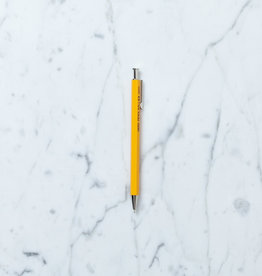 Ohto Wooden Ballpoint Pen - Yellow