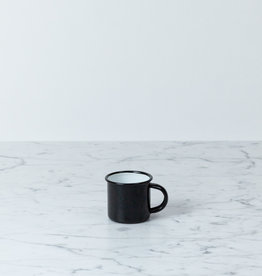 Enamel Mug - Black - Small - 2""