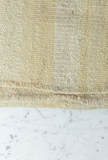 Handwoven Sheep Wool Rug - Natural White  - 60 x 95""
