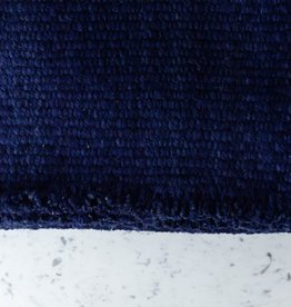 Handwoven Sheep Wool Rug - Blue - 60 x 83""
