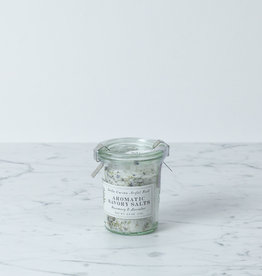 Bella Cucina Rosemary + Lavender Savory Salt in WECK Jar - 2.6oz