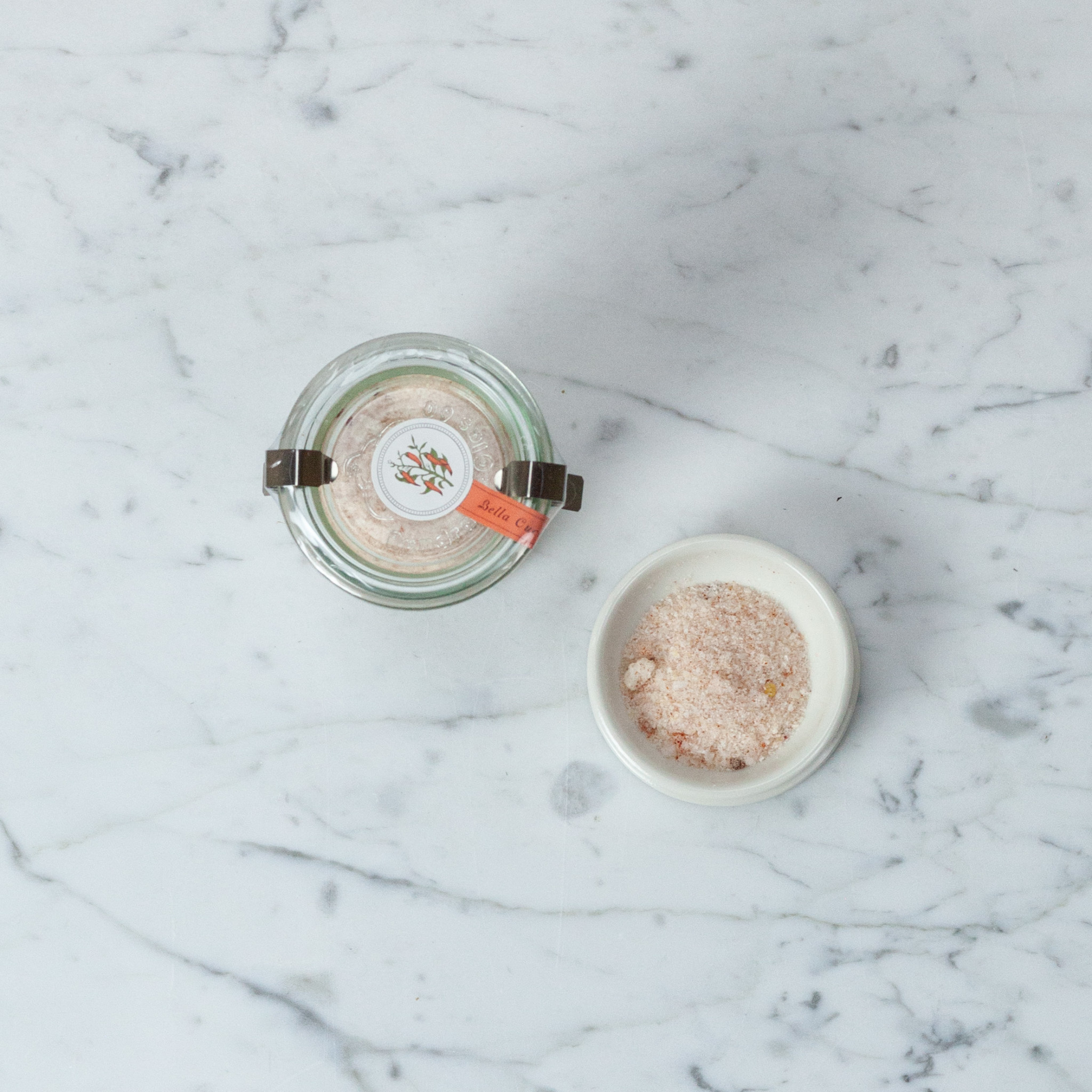 Bella Cucina Peperoncini + Pimenton Savory Salt in WECK Jar - 2.6oz