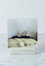 "BIDKhome / Serax Long Marble Card Holder - 4"""