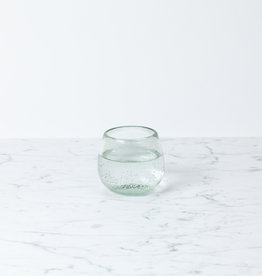 Handblown Roli Poli Glass