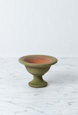 """Campo De Fiori Naturally Mossed Terracotta Mini Fruit Bowl Planter - 5"""""""