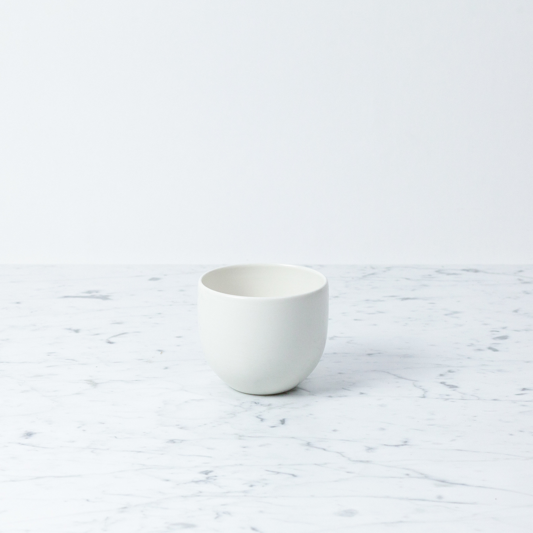 John Julian John Julian Porcelain Full Glaze Simple Beaker Plain