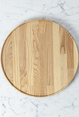 """PREORDER Hasami Ash Wood Round Tray - Extra Large - 11 3/4"""" x 3/4"""""""