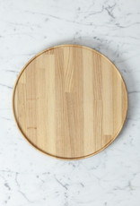 "PREORDER Hasami Ash Wood Round Tray - Large - 10"" x 3/4"""