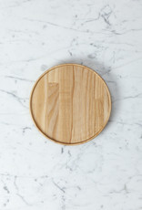 "Hasami Ash Wood Round Tray - Small - 7 1/4"" x 3/4"""
