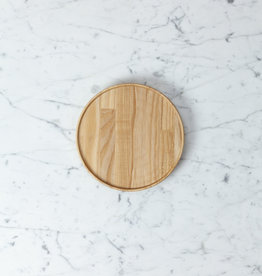 "Hasami Ash Wood Round Tray - Small - 7 1/4"" x 3/4"""