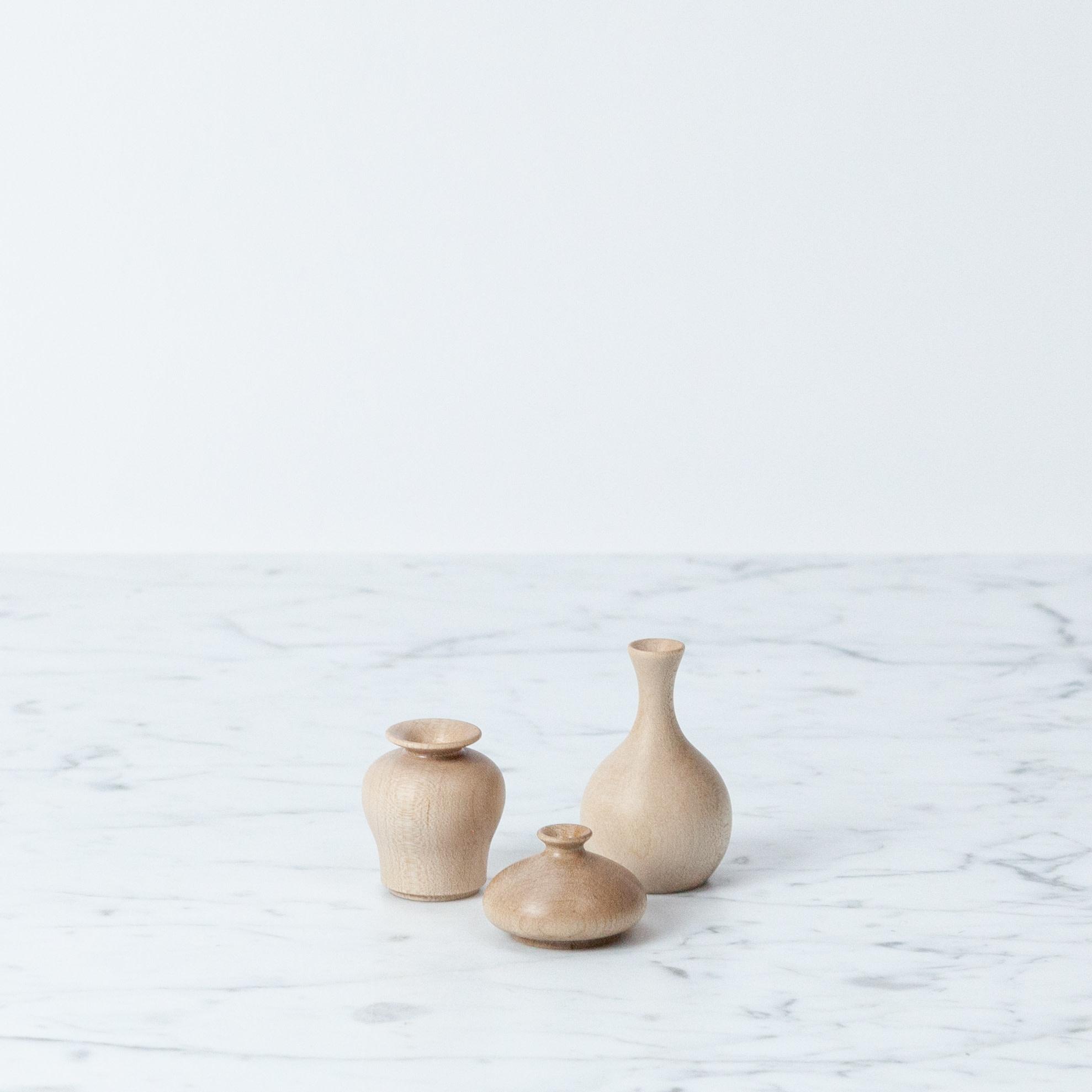 Small Maple Flower Vase - Crane