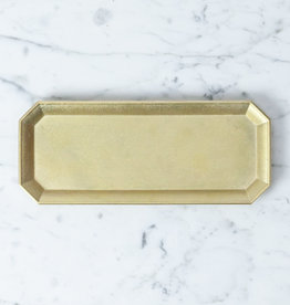 FUTAGAMI Futagami Brass Stationery Tray - Large - 8.25""