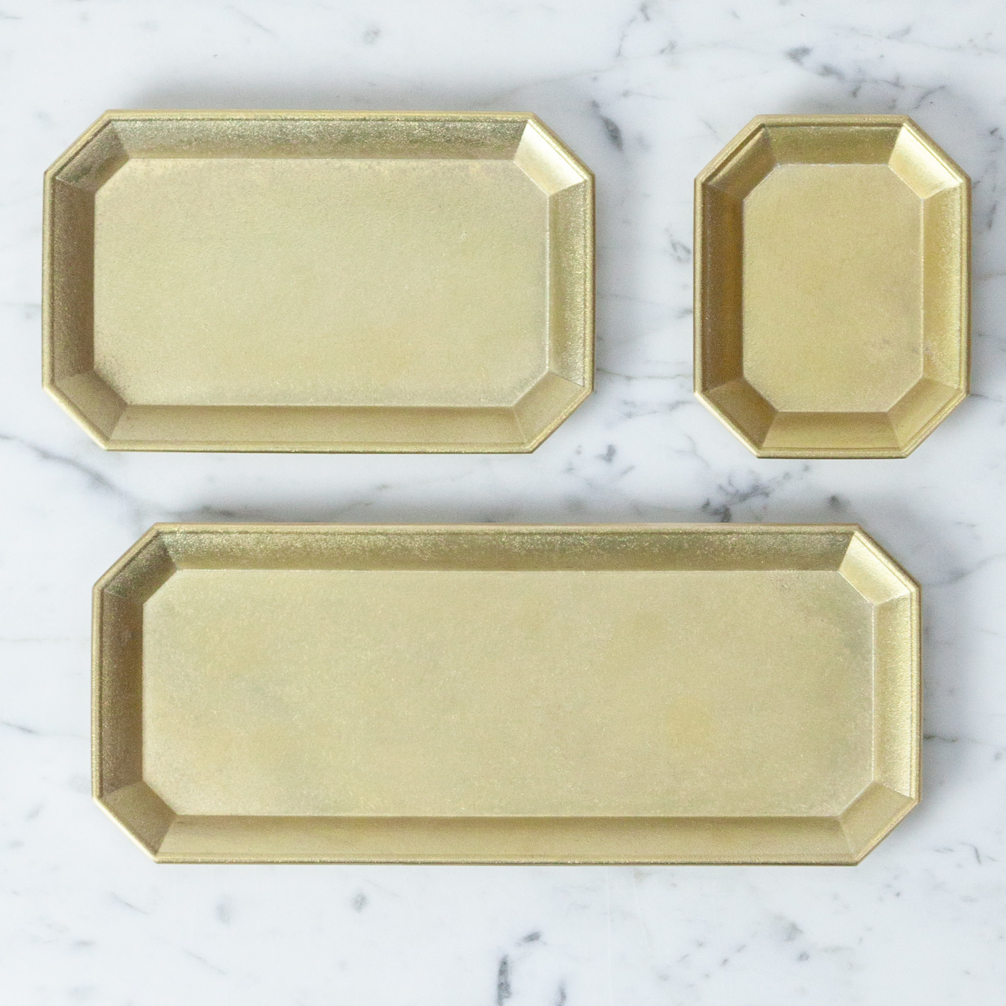 FUTAGAMI Futagami Brass Stationery Tray - Medium - 5.5""