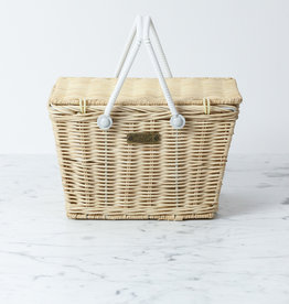 Picnic Basket - Straw - 9 x 6 in