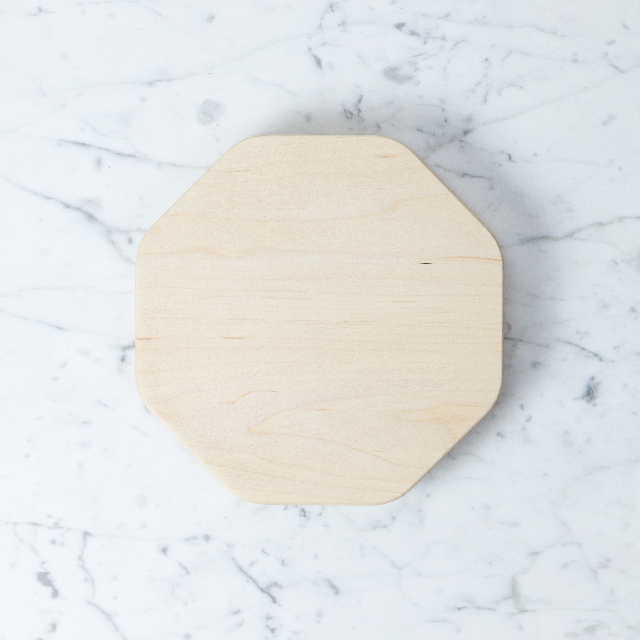 KAKUDO Japanese Kakudo Octagon Maple Cutting Board - Small - 8.25""