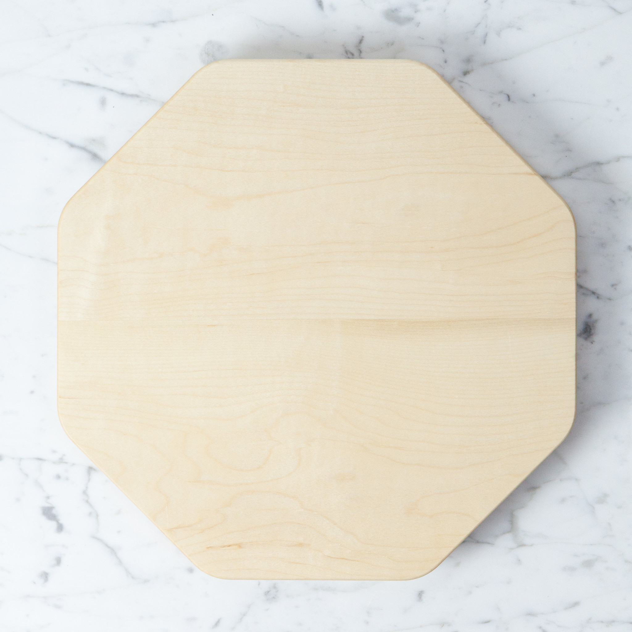 KAKUDO Japanese Kakudo Octagon Maple Cutting Board - Medium - 12""