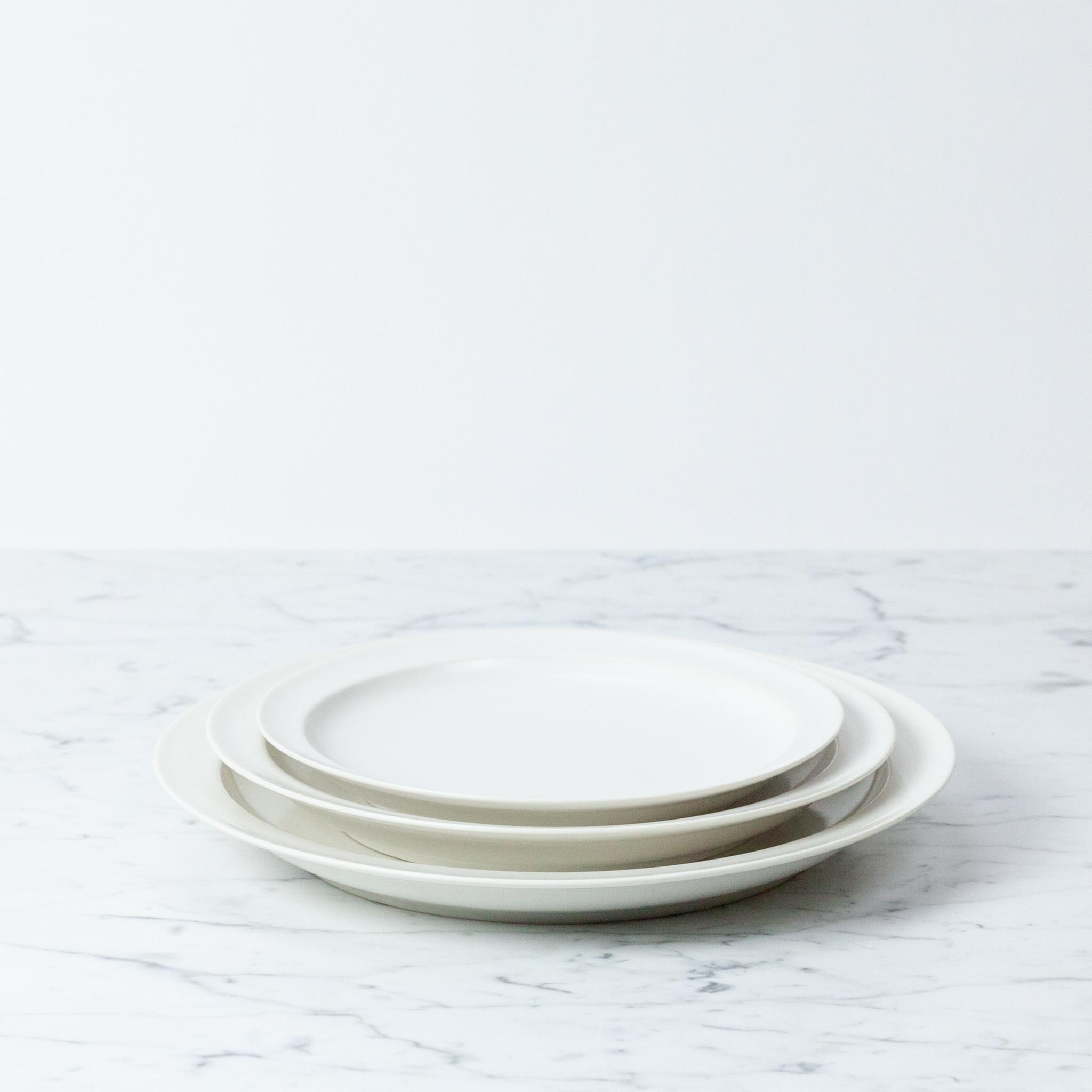 "Jicon Short Rim Dinner Plate - 10"""
