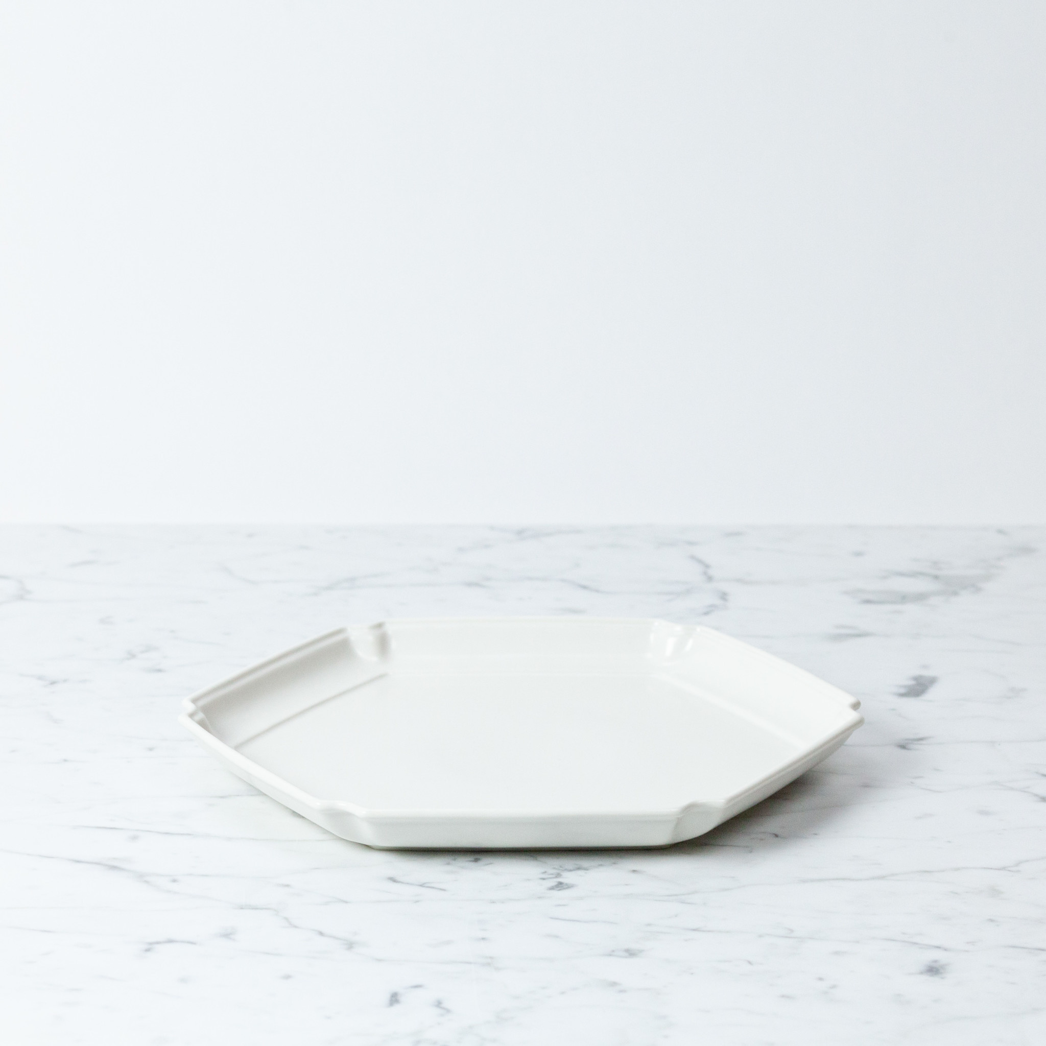 Jicon Porcelain Hexagon Plate - 11""