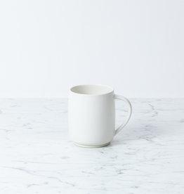 "SUSUMUYA Susumu Tea Mug with Handle - Large - White - 4"""