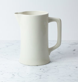 Giant Stoneware Basin Pitcher - Flared Base - 10.5""