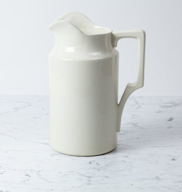 Giant Stoneware Basin Pitcher - Large Spout - 12.5""