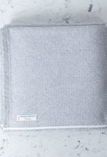 Brahms Mount Thorndike Cotton Blanket - Queen - Slate - 90 x 90""