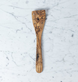"""Olivewood Cooking Spatula with Holes - 12"""""""
