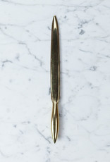 Smooth Brass Letter Opener