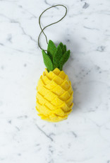 Hand Felted Pineapple Ornament