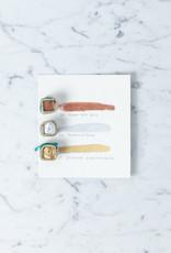 Beam Paints Natural Pigment Handmade Watercolor Paintstones - Zhaawaa Zhoonia'aande Gold - Individually Wrapped