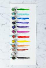 Beam Paints Natural Pigment Handmade Watercolor Paintstones - M'kde'aande Black #26 - Individually Wrapped