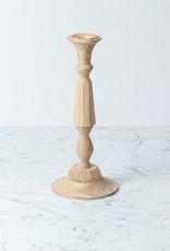"""Georgian Hardwood Candlestick - 11"""""""
