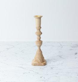 """Georgian Hardwood Candlestick - 10"""""""