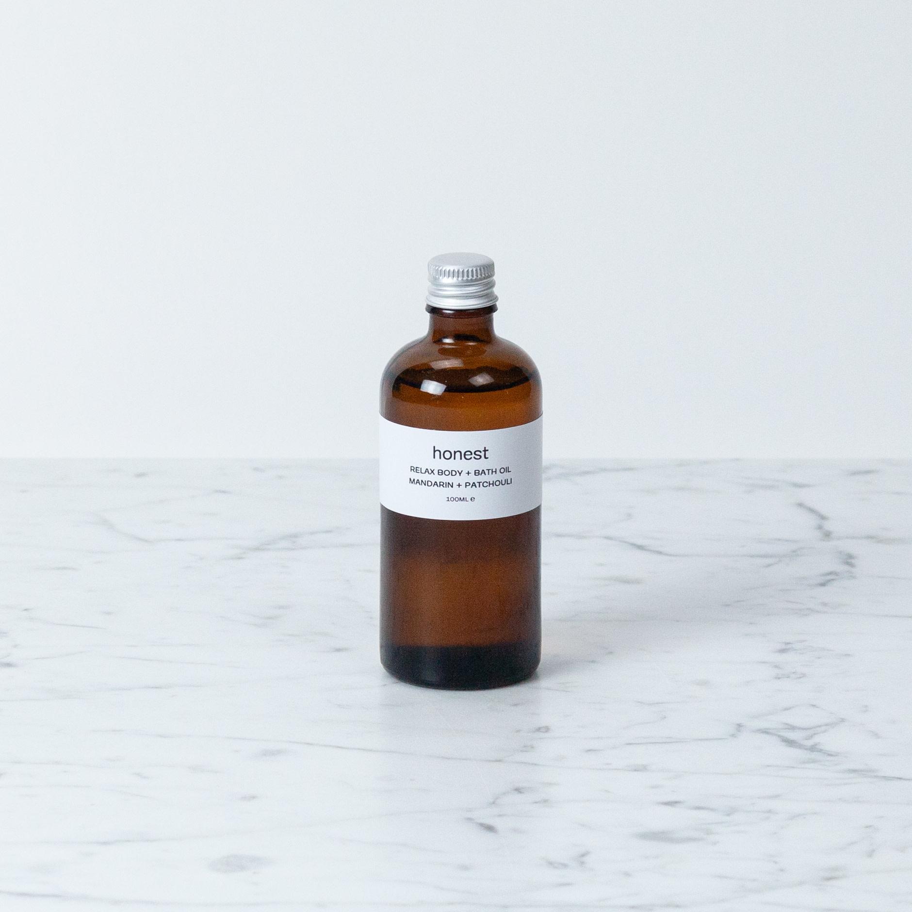 Honest Relax Bath + Body Oil - 100 ml