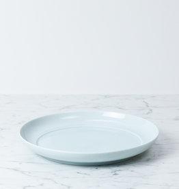 """MIZU MIZU mizu-mizu Round Porcelain Dinner Plate - Bluish White - 9.5"""""""