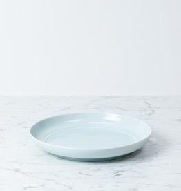"""MIZU MIZU PREORDER mizu-mizu Round Porcelain Salad Plate - Bluish White - 8"""""""