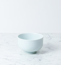 MIZU MIZU PREORDER mizu-mizu Curved Bowl with Foot - Bluish White - Medium - 5""