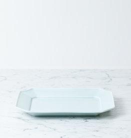 """MIZU MIZU mizu-mizu Rectangular Porcelain Dish - Bluish White - 7.5 x 9.5"""""""