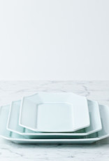 MIZU MIZU PREORDER mizu-mizu Long Porcelain Dish - Bluish White - 5.5 x 9.5''