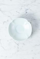 "MIZU MIZU PREORDER mizu-mizu Mokko Clover Short Porcelain Bowl - 5.5"""