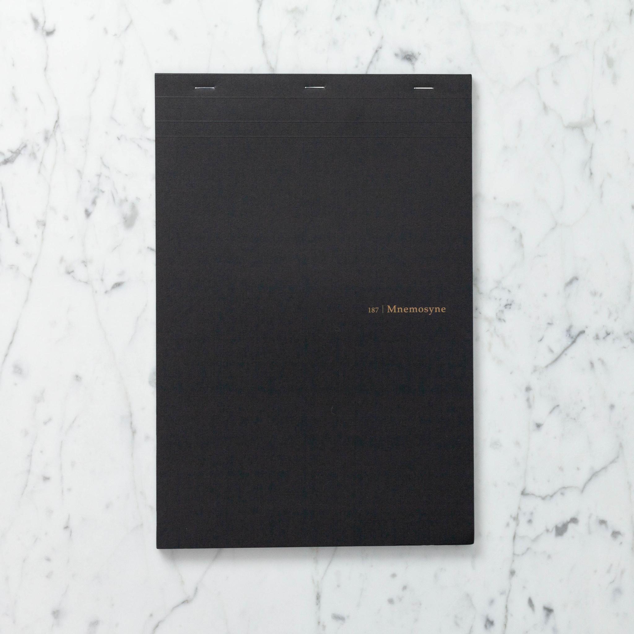 Mnemosyne Notepad - Grid - A4