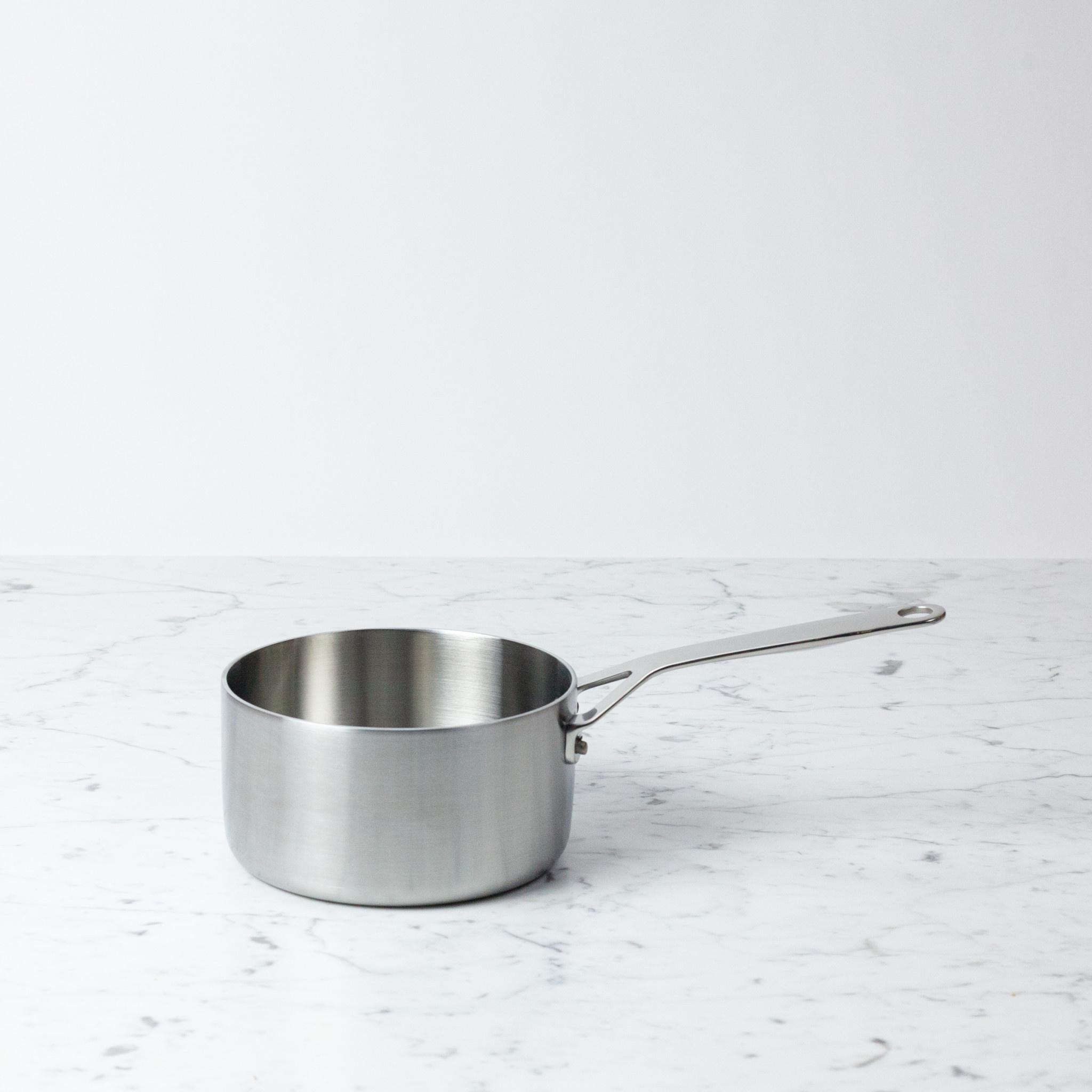 Crane Crane Tri Ply Stainless Sauce Pan