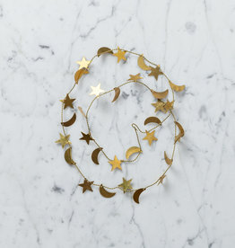 Little Brass Garland - Stars