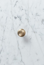 Brass Knob Drawer Pull - Large - 1.25""