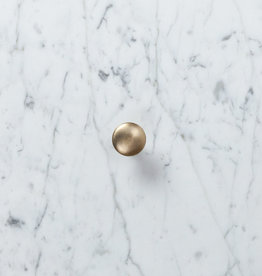 Brass Knob Drawer Pull - Large